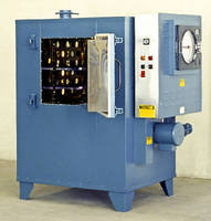 Electrically Heated Cabinet Oven operates at up to 850°F.