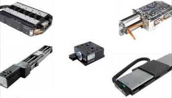 Precision Linear Stages are available with diverse options.