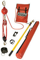 Fall Protection Kits help rescue suspended worker.