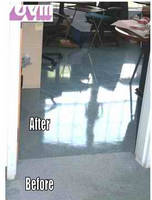 Nano UV Coating Designed Specifically for Refurbishing Vinyl Tile in Offices, Malls, and Stores