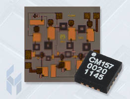 LNA GaAs MMICs feature single voltage of +3.0 V at 52 mA.