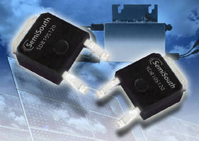 Silicon Carbide Diodes feature 5-10 A current rating.