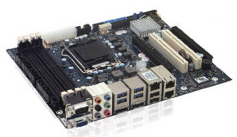 Embedded Motherboard supports up to 32 GB DDR3 RAM.