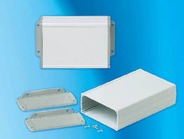 Extruded Aluminum Enclosures offer multiple mounting options.