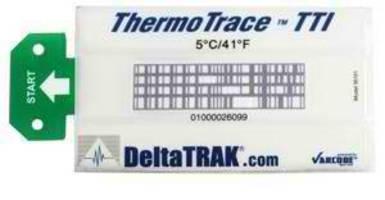 DeltaTRAK® ThermoTrace TTI Monitors Equipment and Product Temperature to Maximize Shelf Life