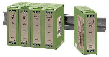 Transducers enable true RMS voltage and current measurement.