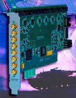 PCI Express Board synchronizes up to 256 channels.