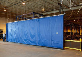 Wind-Block Curtain keeps employees comfortable, safe.