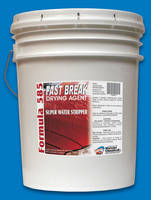 Concentrated Drying Agent produces instantaneous breaks.