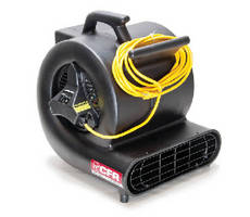 Professional Dryers provide up to 2,500 cfm air movement.