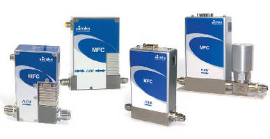 Mass Flow Controllers offer multi-gas, multi-range solution.