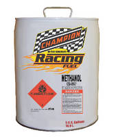 Champion Oil Introduces 99.97 Pure Methanol Race Fuel