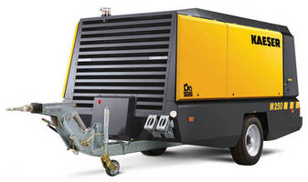 Portable Compressor combines power and maneuverability.