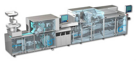 Pharmaceutical Packaging System combines speed, flexibility.