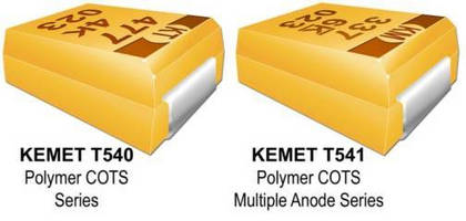 Tantalum SMT Capacitors are available in 35 and 50 V ratings.