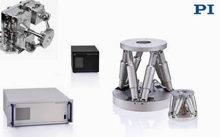 Hexapod / SpaceFAB Parallel Precision Robotic Positioning Systems from PI
