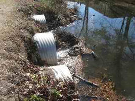 Monitoring Flow Rate in a Channel to Minimize Water Pollution