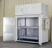 Electric Walk-In Oven operates up to 650°F.