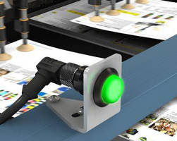 Multi-Color LED Indicator reliably relays machine status.