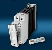 Solid State Contactors feature integrated fuse holder.