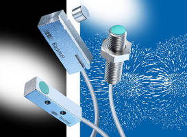 Magnetic Proximity Sensors offer 60 mm sensing range.