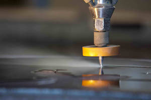 Optical Product Manufacturer Improves Production Quality and Expands Service Offering with New Waterjet Cutting Machine