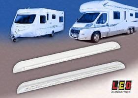 Door Entry Lamp Housings suit trucks, caravans, and motor homes.