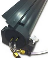 Compact Scraper Assembly provides uniform roll/belt cleaning.