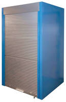 Wall Storage System is available with sturdy aluminum door.