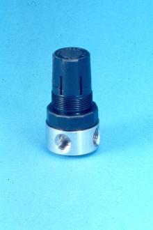 Miniature Regulator is diaphragm operated.
