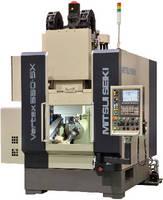 Vertical Machining Center produces turbine blades.