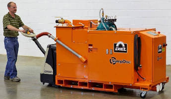 Fluid Reclamation Machine eliminates production interruption.