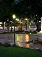 Historic Park around Los Angeles City Hall Turns Greener with LED Lighting