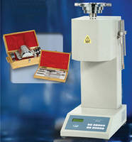 Melt Flow Resistance Tester offers accurate temperature control.