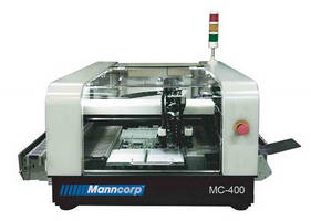 Production-Ready MC-400 Pick & Place from Manncorp Brings Affordability In-House