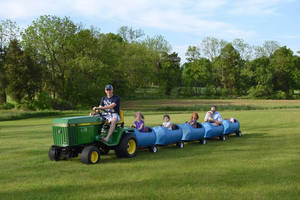 Customized Plastic Barrel Trains Made by Wilke Enginuity