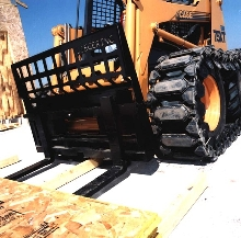 Pallet Forks prevent damage.
