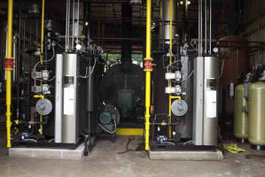 Two Dual-Fuel Miura EX-200 SGO Steam Boilers Chosen by Major Specialty Chemicals Plant