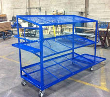 Order Picking Truck offers 1,200 lb capacity.
