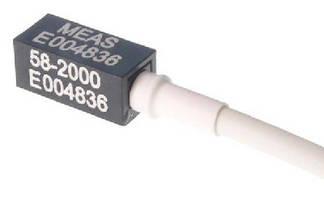 MEMS DC Response Accelerometer supports auto crash testing.