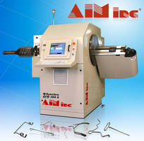 Programmable 3D CNC Wire Bender minimizes forming limitations.