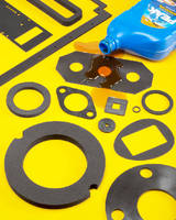 FKM Gaskets and Seals resist oil and harsh chemicals.
