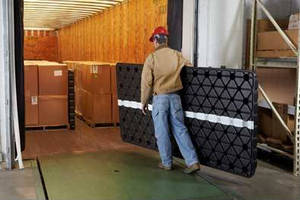 Reusable Plastic Panels help pack shipments securely.