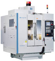 Vertical Machining Center handles small, complex workpieces.