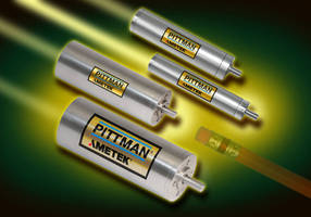 PITTMAN® Offers a Full Range of DC Micromotors Specially Designed for Medical Applications