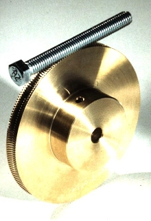 Gearing works with standard screw.