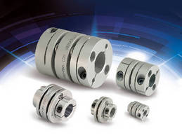 Single and Double Disc Couplings handle up to 4 nm torque.