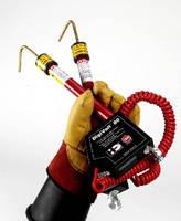 Voltmeter Kit measures up to 80 kV with add-on resistors.