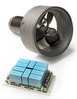 Brushless AC Motor Servo Drive operates in depths to 1,600 m