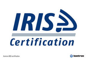 Kontron Achieves International Railway Industry Standard (IRIS) Certification